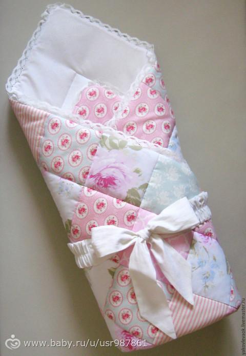 Одеялки на выписку своими руками