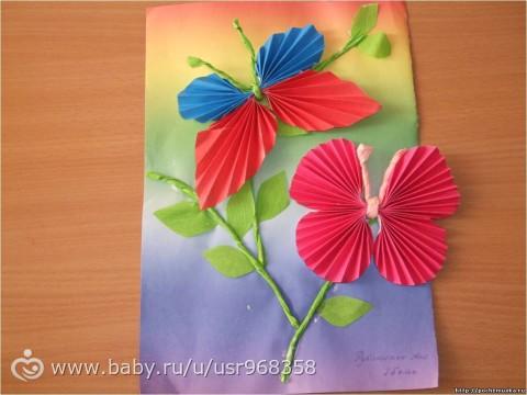 Поделки своими руками для детского сада из цветной бумаги