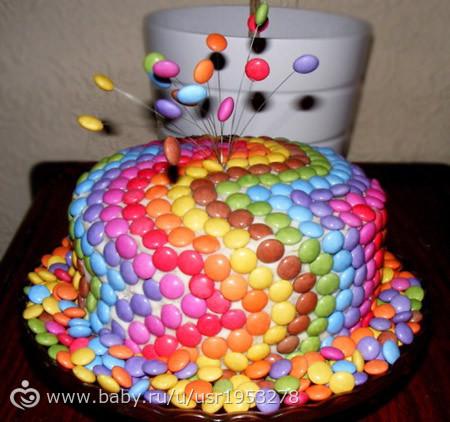 Торт своими руками на день рождения девочке 2 года фото