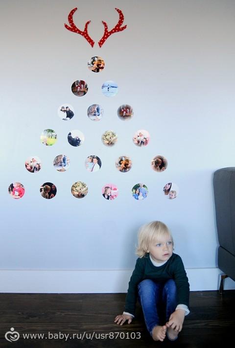 фотографии в новогоднем декоре