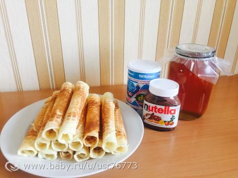Трубочки в вафельнице рецепт на сметане