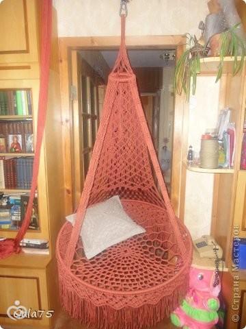 Сделать подвесное кресло