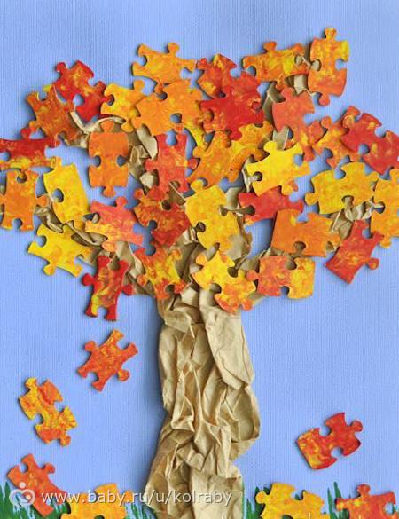 Осенние поделки для детского сада и школы (136 идей) - бэби. ру