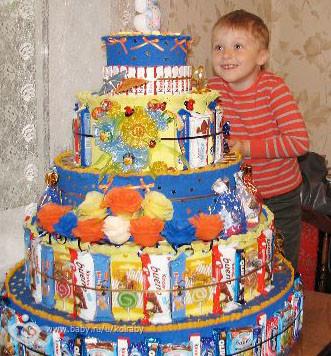 Подарок мальчику на 5 лет на день рождения своими руками 4