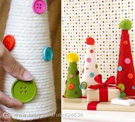 Как сделать новогодние игрушки руками поэтапно