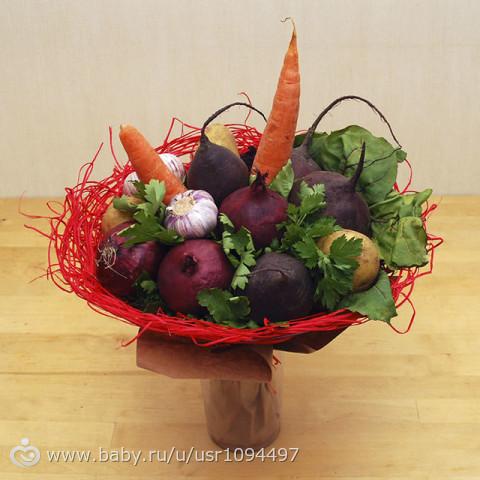 Подарки из овощей