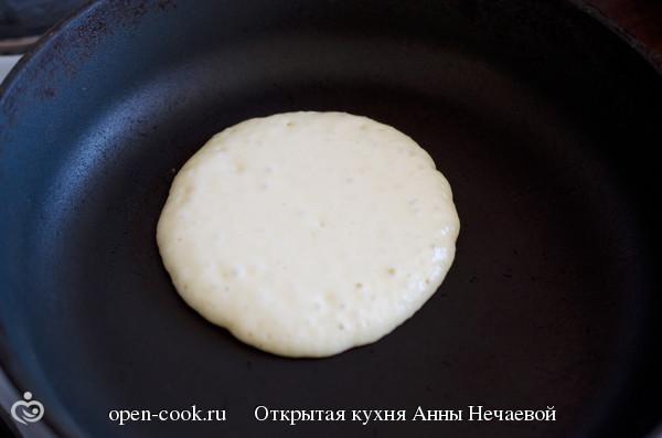Простые панкейки рецепт с пошагово на