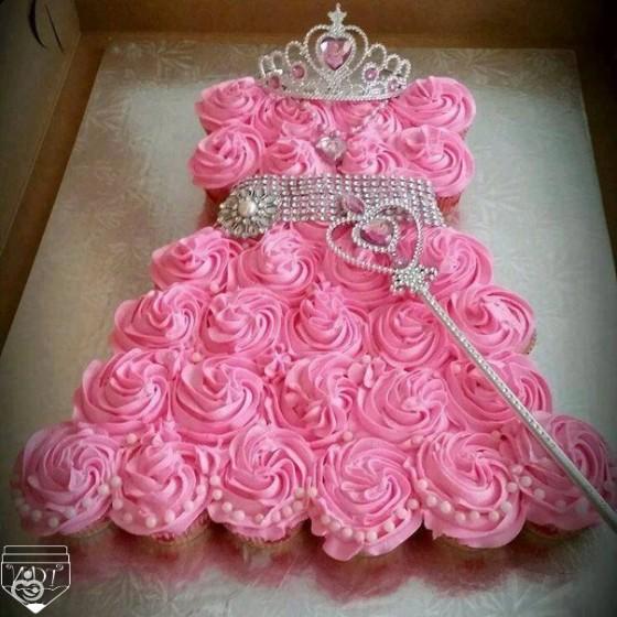 Как украсить торт для девочки на день рождения своими руками из крема