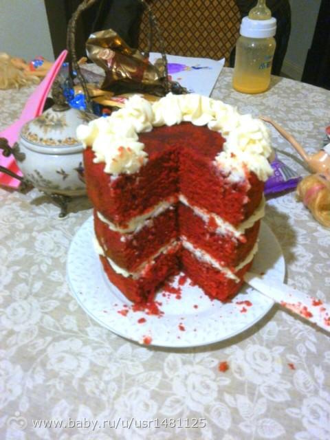Торт красный бархат рецепт с оригинальный рецепт с пошагово