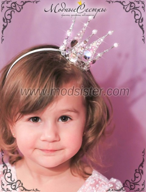 Как сделать корону своими руками для девочки из бумаги