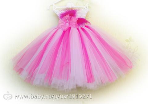 Платье из фатина как сделать верх