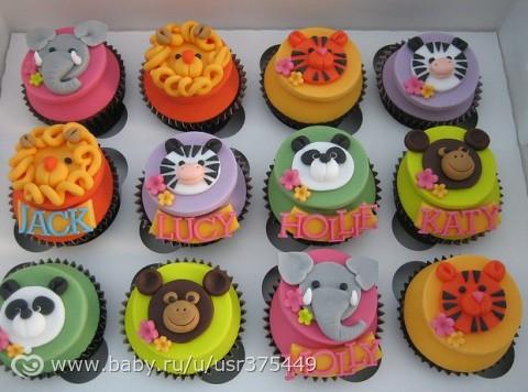 Пирожные для детей на день рождения