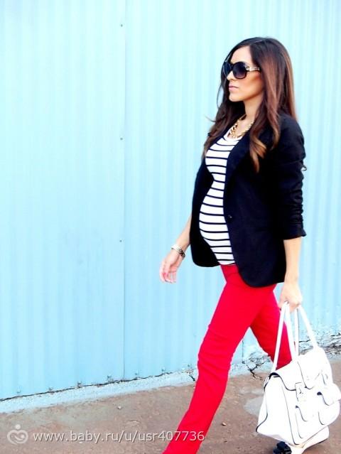 Фото модных беременных