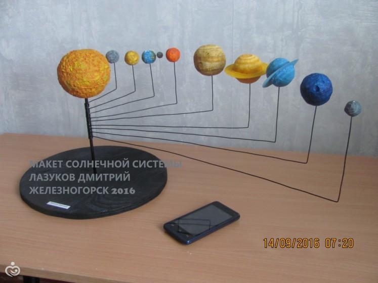Солнечная система своими руками поделка из пенопласта 33