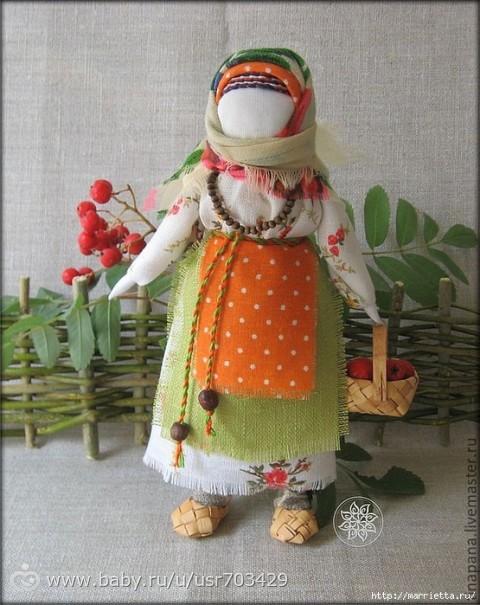 Куклы русские народные мастер класс