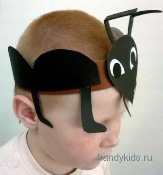 Как сделать маски муравья