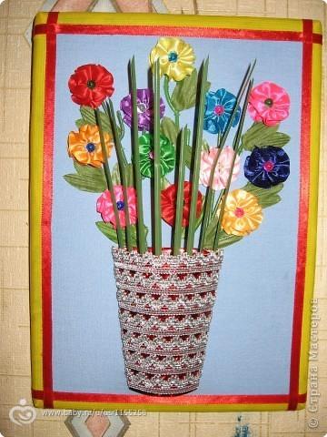 Поделки с детьми своими руками вазы