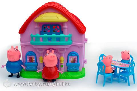 купить дом свинки пеппы с фигурками
