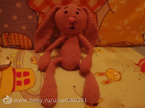 Заяц для моего зайки))