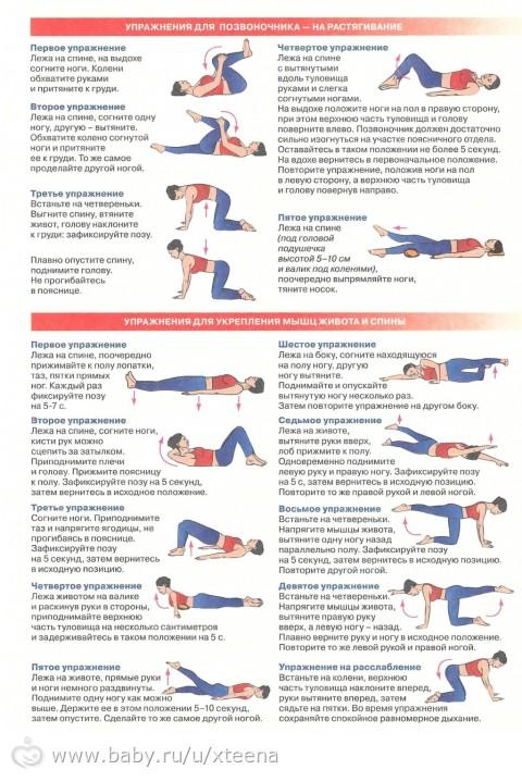 Простые и эффективные упражнения при сколиозе у детей