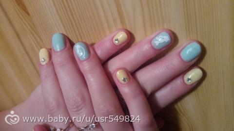 Решила свой позор людям показать)))Ногти)