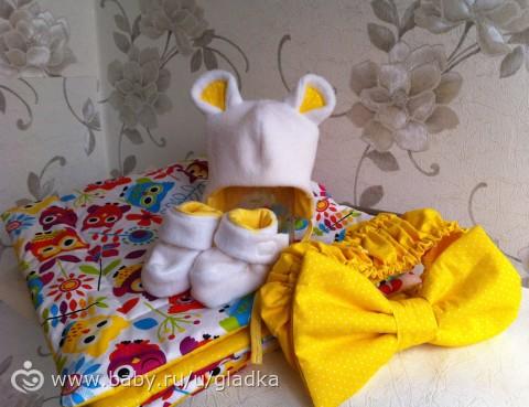 Одеяло на выписку своими руками из флиса 102