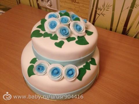 Мой первый торт=))