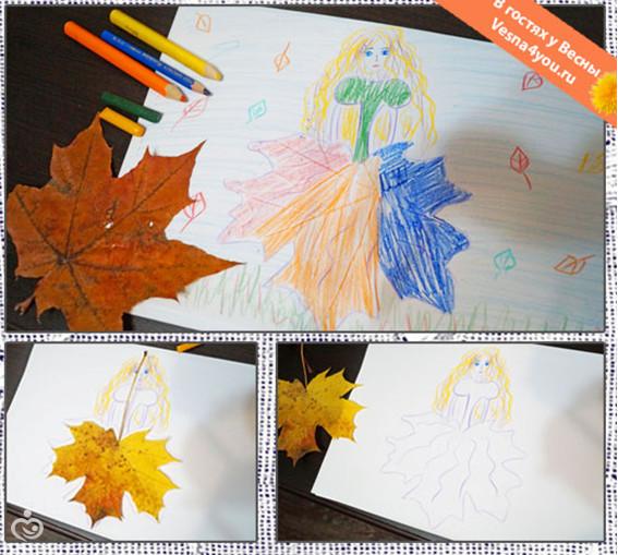 """Осенние занимашки для детей 4-5-6 лет :) наши планы и """"творения"""""""