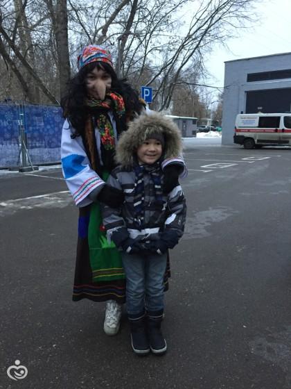 """Съездили с Тимой на водный спектакль """"Сказка о царе Салтане"""""""