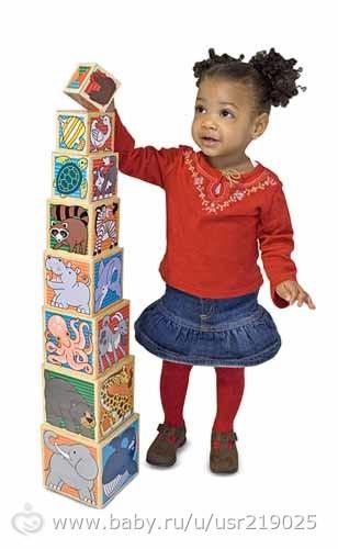 Где купить кубики-пирамидки от Melissa&Doug и Djeco?