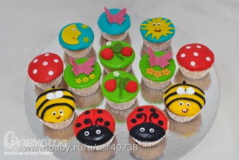 Красивые фотографии тортов и фруктов