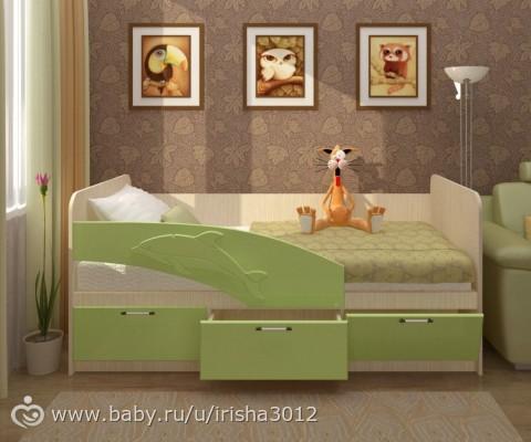 Цвет кровати для мальчика