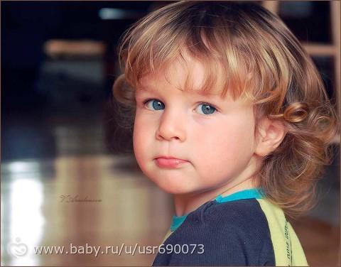 Стрижка ребенка в 1 год - t