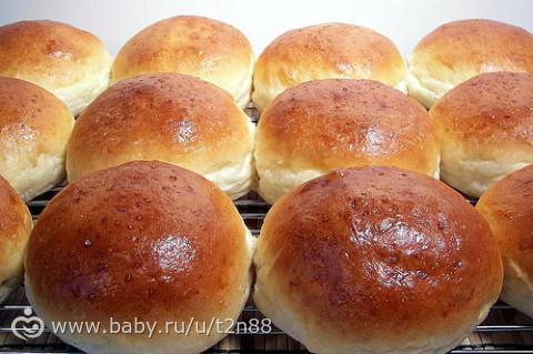 Сладкие булочки с сахаром рецепт с фото