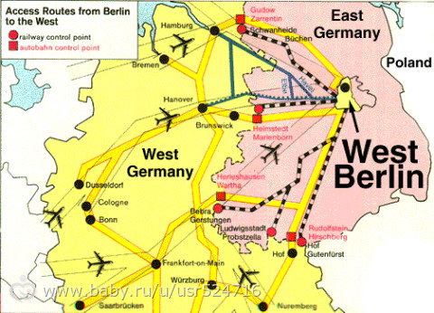 an analysis of the wall between the east and west berlin in germany