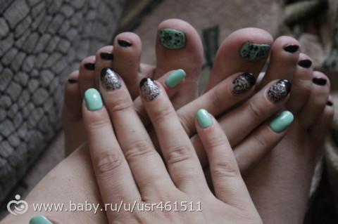 Накопилось немного ноготочков))))))))))