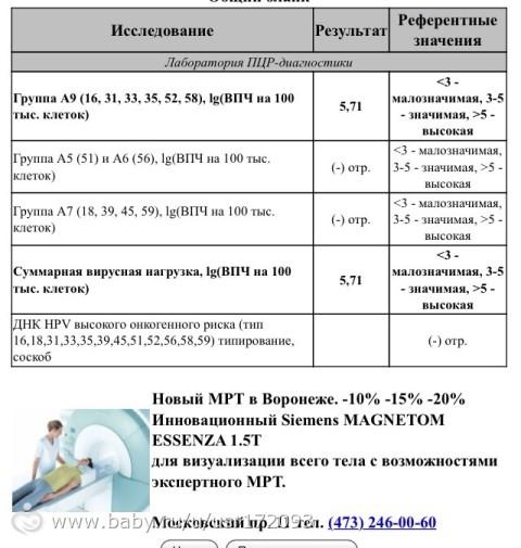 Результаты впч расшифровка 16 - Jks-k.ru