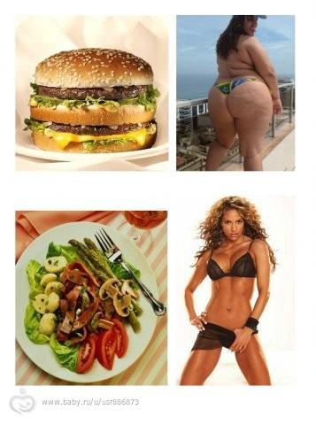 одновременно заниматься и сидеть спортом на диете
