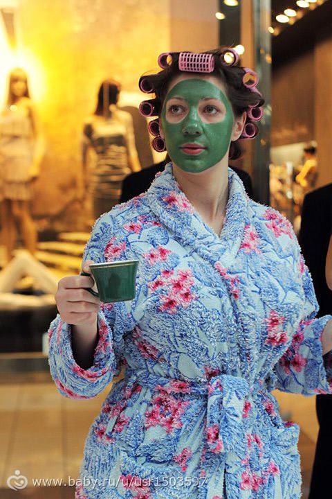 Знойная домохозяйка в халате фото 507-548