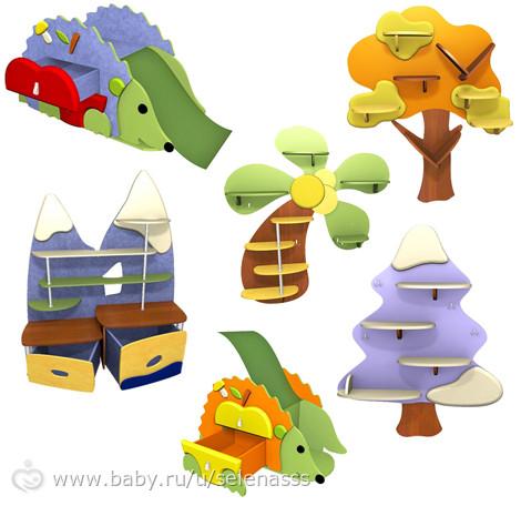 Детские комнаты 3. Интерьерные мелочи.