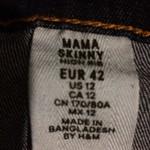Отлам двое джинсов для беременных H&M