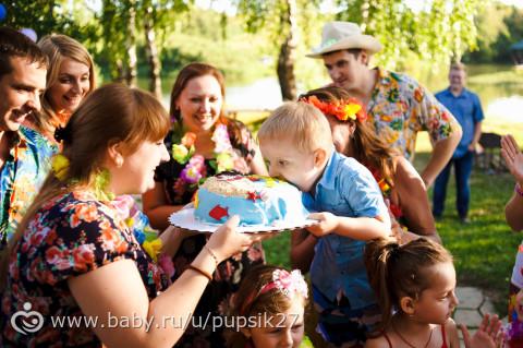 Гавайская вечеринка в честь Ванюшкиного 3 летия!!! Море фото и радушного гостеприимства!!! Часть 2