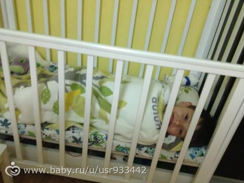 отдам детскую кроватку