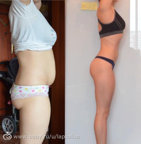 Индивидуальная диета - Как вернуть фигуру после родов